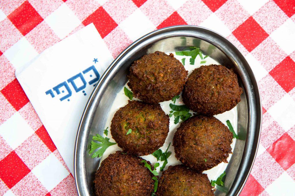 falafel kaspi food photography restaurant